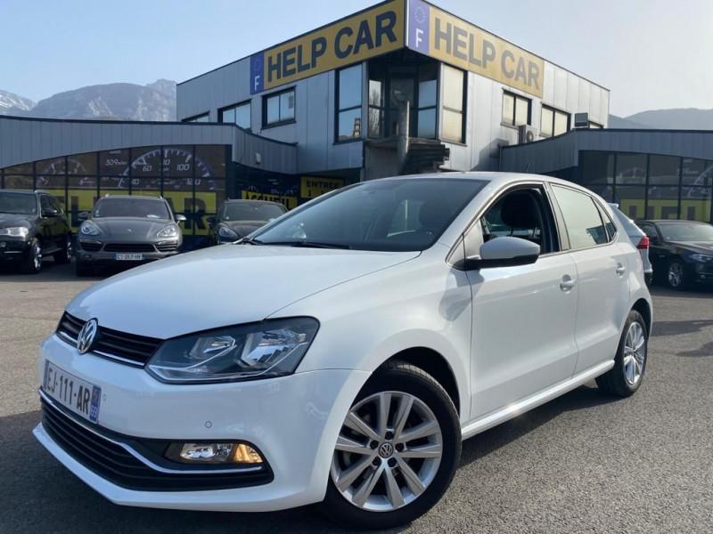 Volkswagen POLO 1.4 TDI 75CH BLUEMOTION TECHNOLOGY CONFORTLINE BUSINESS 5P Diesel BLANC Occasion à vendre