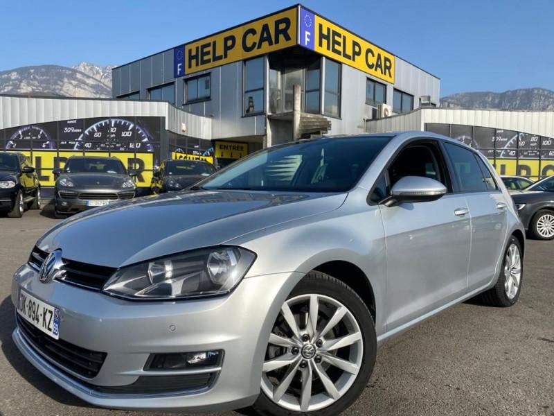 Volkswagen GOLF VII 2.0 TDI 150CH BLUEMOTION TECHNOLOGY FAP CARAT DSG6 5P Diesel GRIS C Occasion à vendre