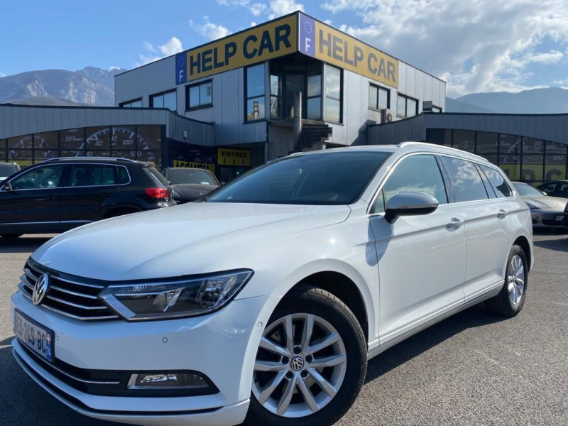 Volkswagen PASSAT SW 2.0 TDI 150CH BLUEMOTION TECHNOLOGY CONFORTLINE BUSINESS DSG6 Diesel BLANC Occasion à vendre
