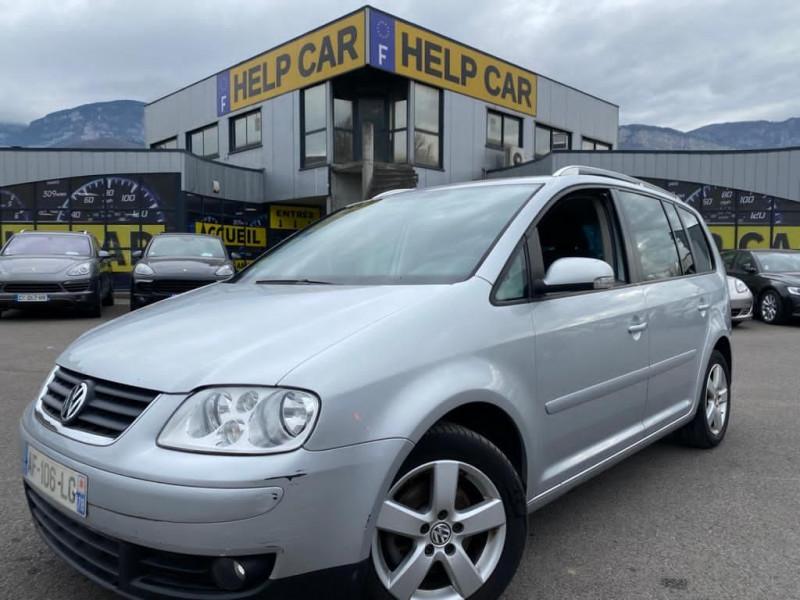 Volkswagen TOURAN 2.0 TDI 140CH CONFORT DSG6 7 PLACES Diesel GRIS C Occasion à vendre