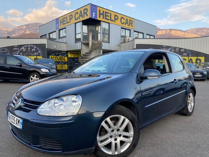 Volkswagen GOLF V 1.9 TDI 105CH CONFORT 3P Diesel BLEU F Occasion à vendre