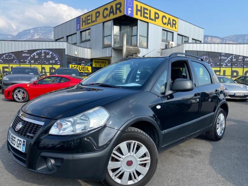 Fiat SEDICI 1.9 MULTIJET 8V 120CH DYNAMIC 4X2 5P Diesel NOIR Occasion à vendre