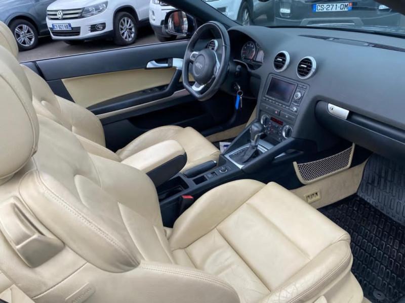 Photo 4 de l'offre de AUDI A3 CABRIOLET 2.0 TFSI 200CH AMBITION LUXE S TRONIC 6 à 13990€ chez Help car