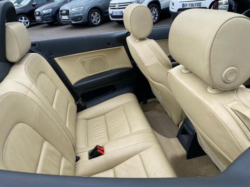 Photo 5 de l'offre de AUDI A3 CABRIOLET 2.0 TFSI 200CH AMBITION LUXE S TRONIC 6 à 13990€ chez Help car