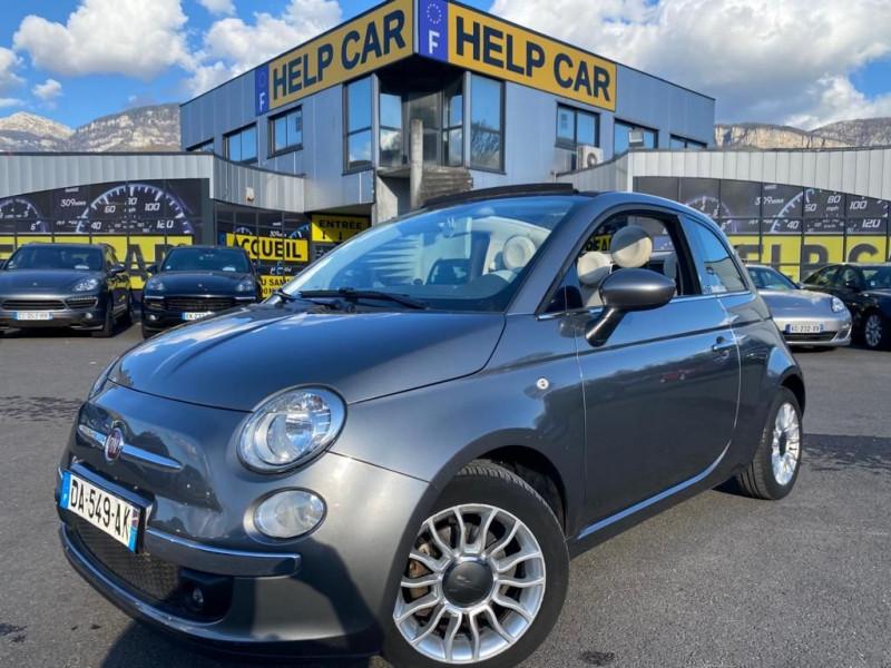 Photo 1 de l'offre de FIAT 500C 0.9 8V TWINAIR 85CH S&S LOUNGE BVA à 10490€ chez Help car