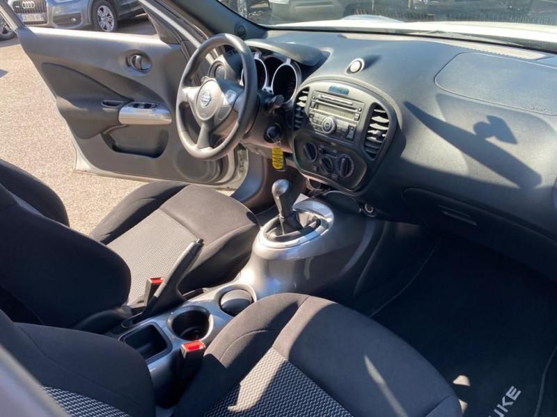 Photo 4 de l'offre de NISSAN JUKE 1.6 94CH VISIA PACK EURO6 à 11990€ chez Help car