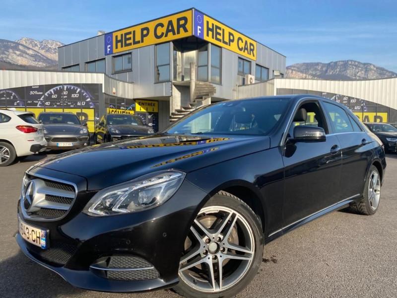 Mercedes-Benz CLASSE E (W212) 300 BLUETEC FASCINATION 7G-TRONIC+ Diesel NOIR Occasion à vendre