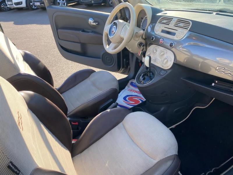 Photo 4 de l'offre de FIAT 500C 0.9 8V TWINAIR 85CH S&S LOUNGE BVA à 10490€ chez Help car