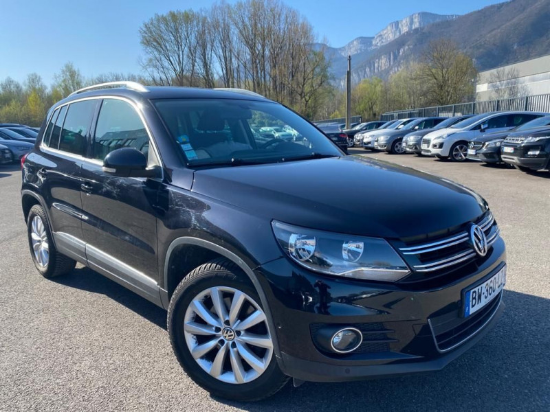 Photo 2 de l'offre de VOLKSWAGEN TIGUAN 2.0 TDI 140CH BLUEMOTION TECHNOLOGY FAP SPORTLINE 4MOTION à 12990€ chez Help car