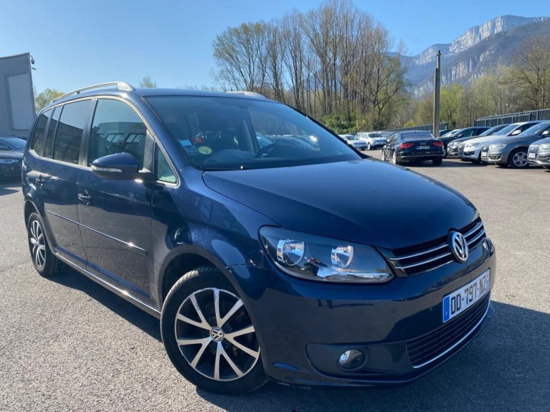 Photo 2 de l'offre de VOLKSWAGEN TOURAN 1.6 TDI 105CH BLUEMOTION TECHNOLOGY FAP CONFORTLINE à 9990€ chez Help car
