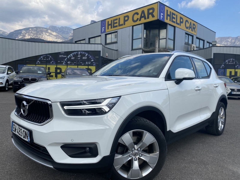 Volvo XC40 D4 AWD 190CH ADBLUE FIRST EDITION GEARTRONIC 8 Diesel BLANC Occasion à vendre