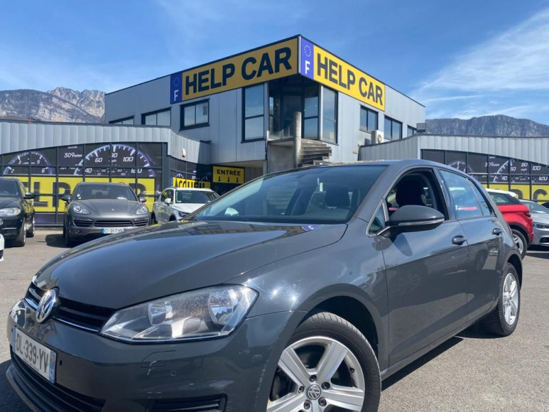 Volkswagen GOLF VII 1.6 TDI 105CH BLUEMOTION TECHNOLOGY FAP CONFORTLINE BUSINESS 5P Diesel ANTHRACITE Occasion à vendre
