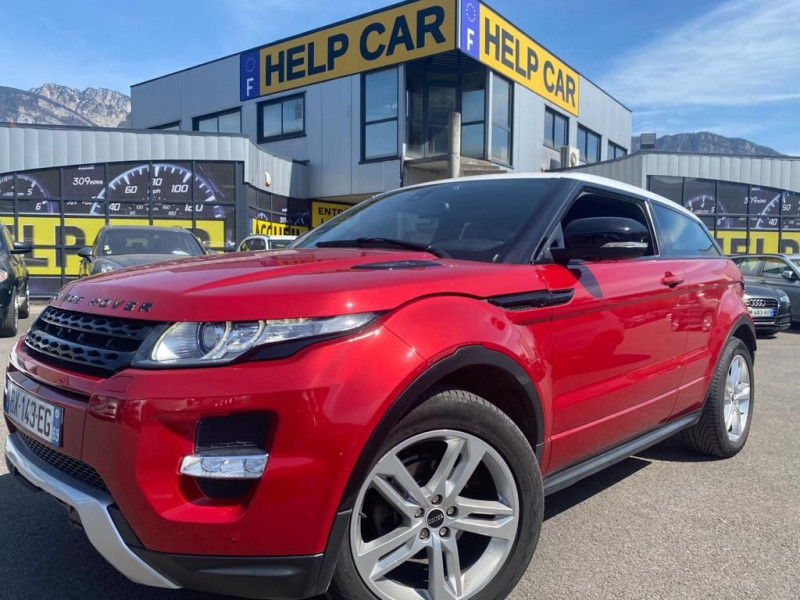 Land-Rover EVOQUE COUPE 2.2 SD4 DYNAMIC 3P Diesel ROUGE Occasion à vendre