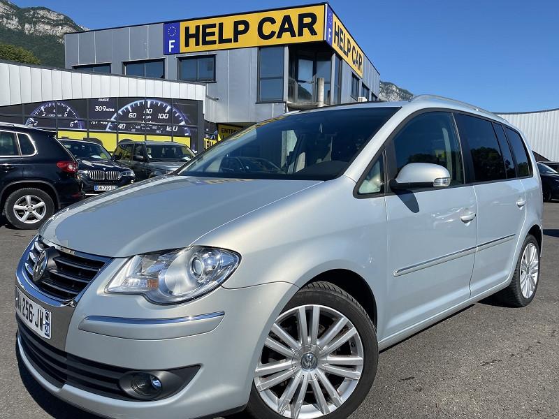 Volkswagen TOURAN 2.0 TDI 140CH SPORTLINE 7 PLACES Diesel GRIS C Occasion à vendre