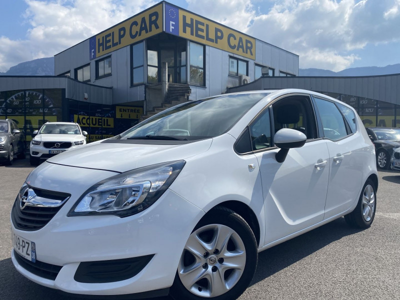 Opel MERIVA 1.4 TURBO TWINPORT 120CH EDITION START/STOP Essence BLANC Occasion à vendre