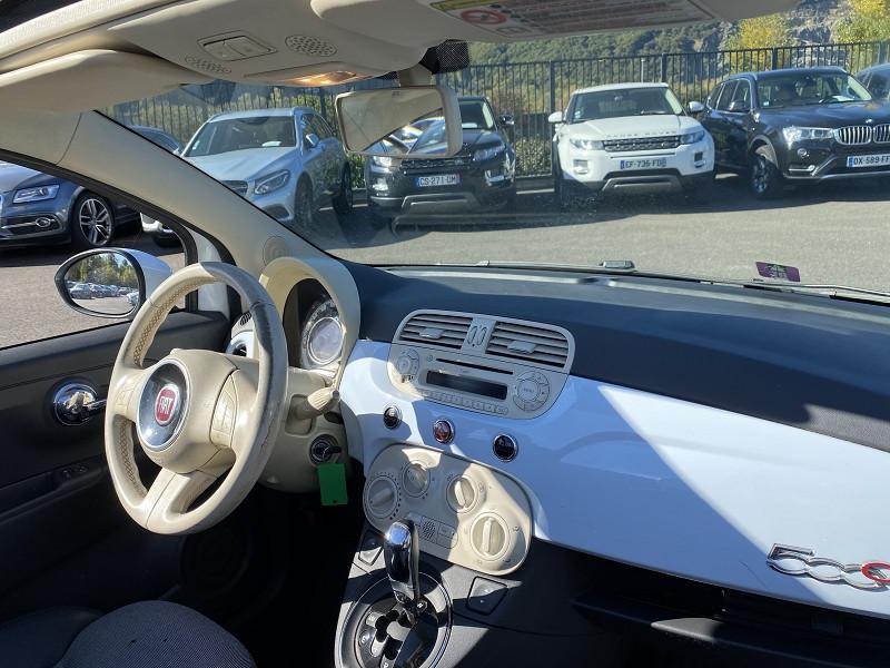 Photo 3 de l'offre de FIAT 500C 1.2 8V 69CH S&S LOUNGE DUALOGIC à 8490€ chez Help car