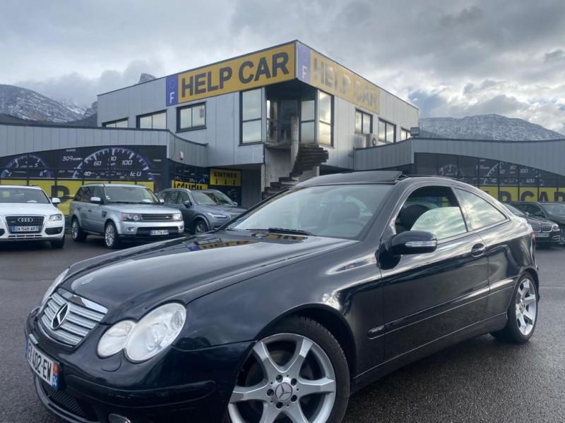 Mercedes-Benz CLASSE C COUPE SPORT (CL203) 200 CDI BA SPORT Diesel NOIR Occasion à vendre
