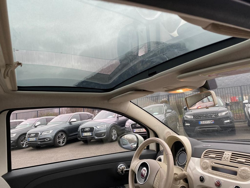 Photo 5 de l'offre de FIAT 500 1.2 8V 69CH S&S LOUNGE à 6990€ chez Help car