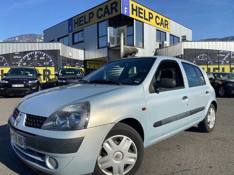Renault CLIO II 1.2 16V 75CH AUTHENTIQUE 5P Essence GRIS C Occasion à vendre