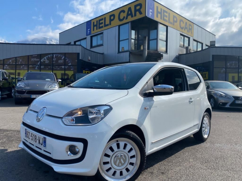 Photo 1 de l'offre de VOLKSWAGEN UP! 1.0 75CH WHITE UP! 3P à 4990€ chez Help car
