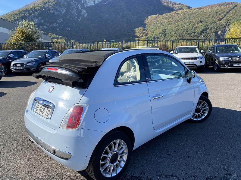 Photo 2 de l'offre de FIAT 500C 1.2 8V 69CH S&S LOUNGE DUALOGIC à 8490€ chez Help car