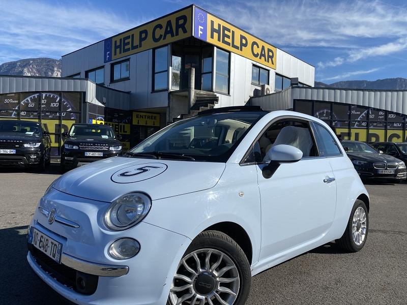 Photo 1 de l'offre de FIAT 500C 1.2 8V 69CH S&S LOUNGE DUALOGIC à 8490€ chez Help car