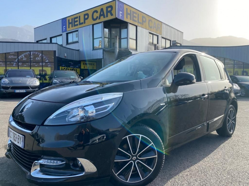 Renault SCENIC III 1.6 DCI 130CH ENERGY BOSE ECO² Diesel NOIR Occasion à vendre