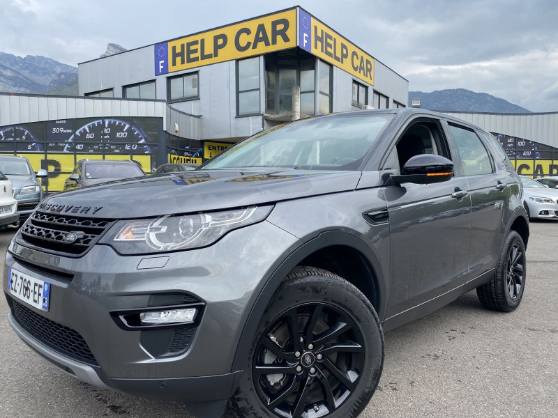 Land-Rover DISCOVERY SPORT 2.0 TD4 180CH AWD Diesel ANTHRACITE Occasion à vendre