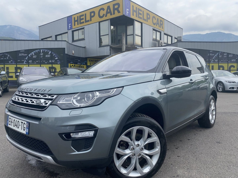 Land-Rover DISCOVERY SPORT 2.0 TD4 180CH Diesel GRIS F Occasion à vendre