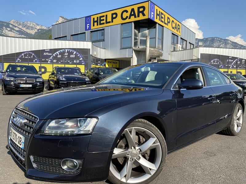 Audi A5 SPORTBACK 2.7 V6 TDI 190CH DPF AMBITION LUXE MULTITRONIC Diesel BLEU C Occasion à vendre