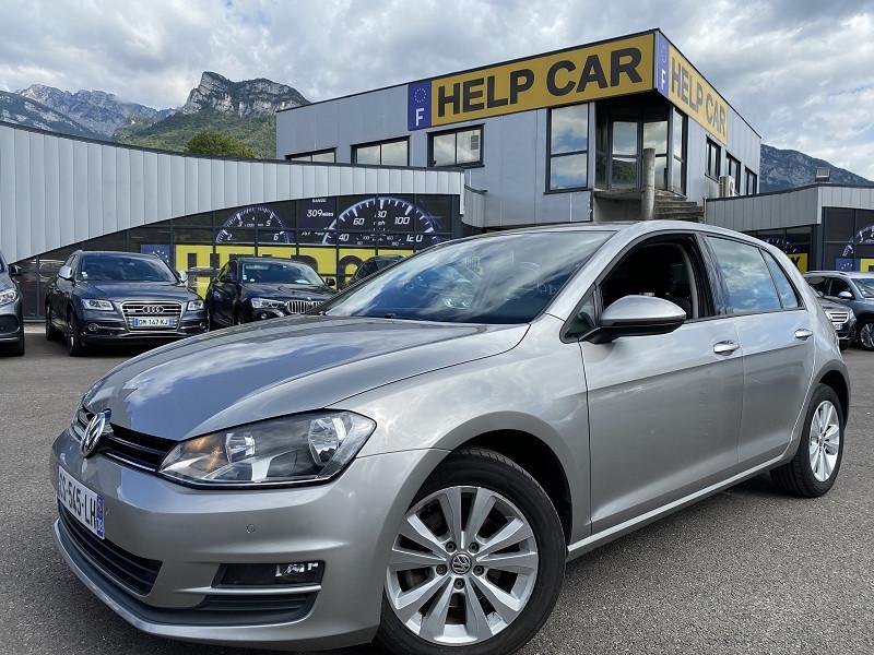 Volkswagen GOLF VII 1.6 TDI 105CH BLUEMOTION TECHNOLOGY FAP CONFORTLINE 5P Diesel GRIS F Occasion à vendre