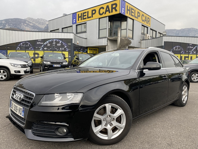 Audi A4 AVANT 2.0 TDI 136CH DPF ADVANCED EDITION Diesel NOIR Occasion à vendre