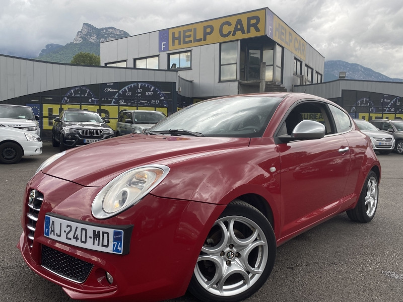 Alfa Romeo MITO 1.3 JTD90 16V DISTINCTIVE Diesel ROUGE  Occasion à vendre