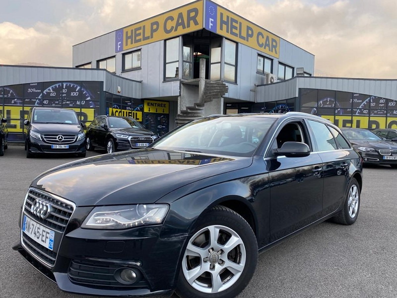 Audi A4 AVANT 2.0 TDI 143CH DPF Diesel NOIR Occasion à vendre