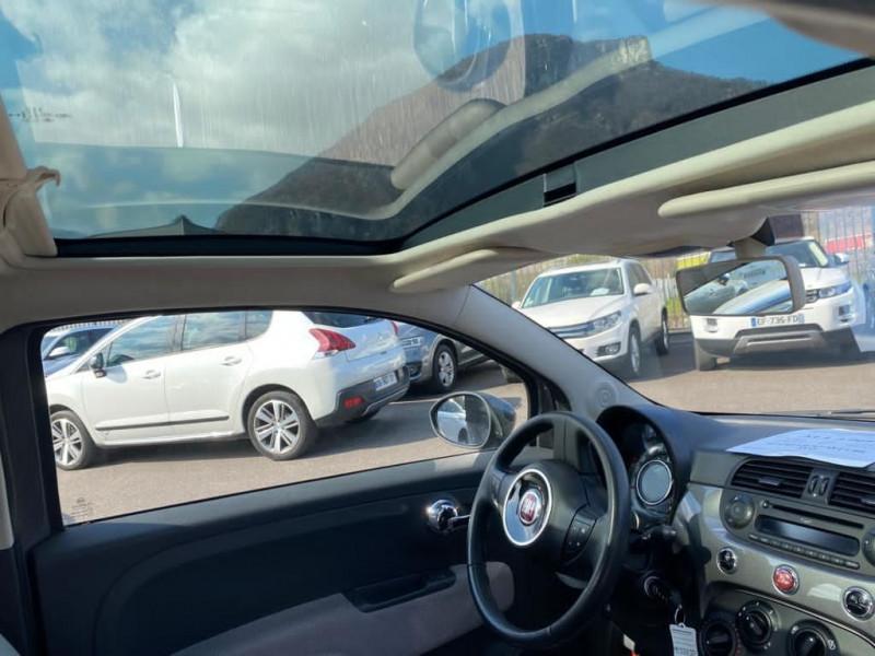 Photo 4 de l'offre de FIAT 500 1.2 8V 69CH LOUNGE à 7990€ chez Help car
