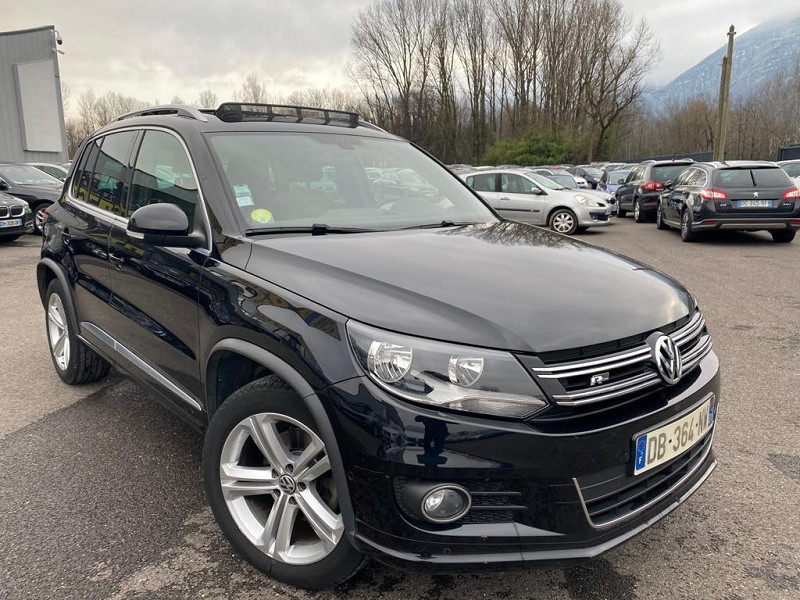 Photo 2 de l'offre de VOLKSWAGEN TIGUAN 2.0 TDI 140CH BLUEMOTION TECHNOLOGY FAP R LINE à 14990€ chez Help car