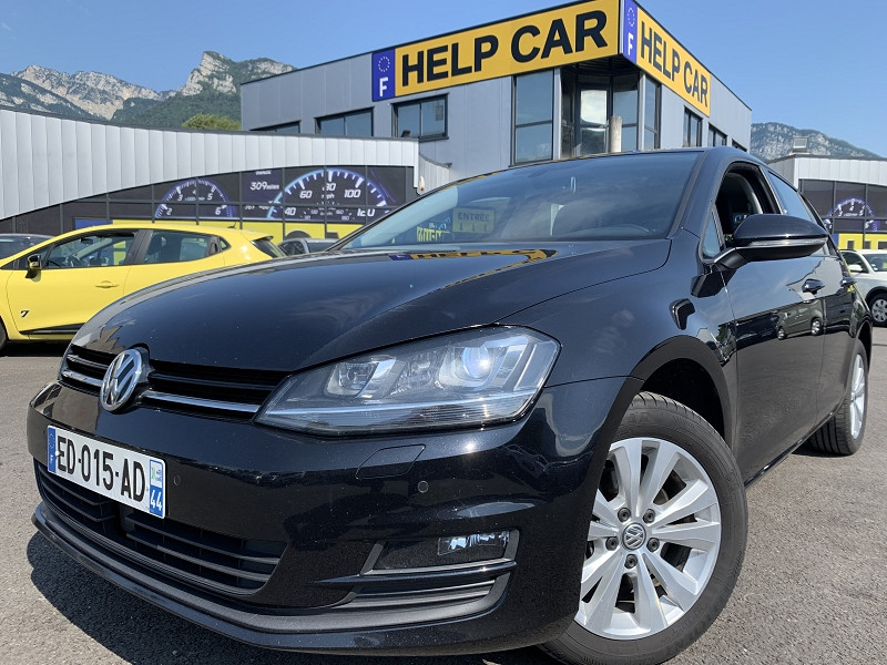 Volkswagen GOLF VII 1.6 TDI 110CH BLUEMOTION TECHNOLOGY FAP CONFORTLINE BUSINESS 5P Diesel NOIR Occasion à vendre