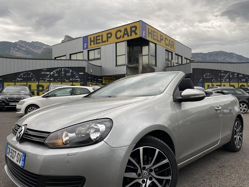 Volkswagen GOLF VI CABRIOLET 1.6 TDI 105CH FAP Diesel GRIS Occasion à vendre