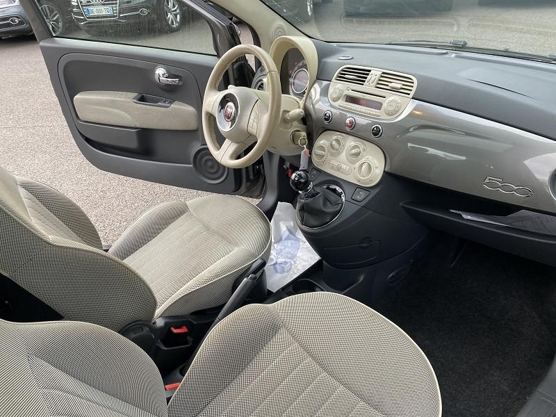 Photo 4 de l'offre de FIAT 500 0.9 8V TWINAIR 85CH S&S LOUNGE à 7990€ chez Help car