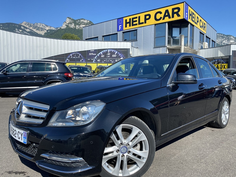 Mercedes-Benz CLASSE C (W204) 220 CDI AVANTGARDE Diesel NOIR Occasion à vendre
