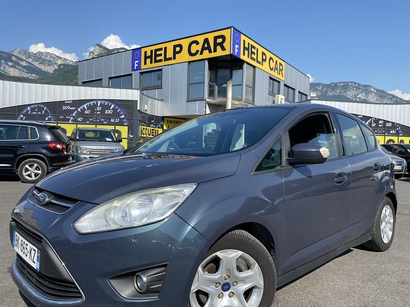 Ford C-MAX 1.6 TDCI 115CH FAP TITANIUM Diesel GRIS F Occasion à vendre