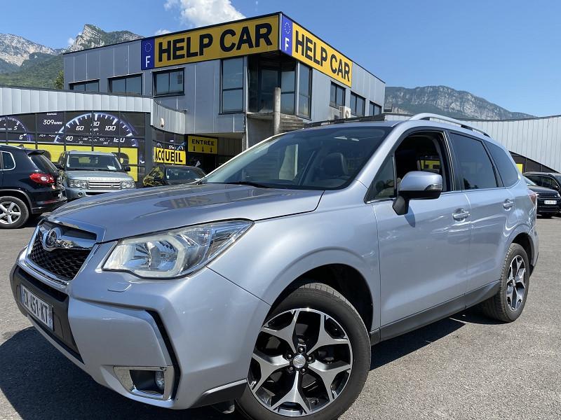 Subaru FORESTER 2.0D 147 LUXURY PACK Diesel GRIS Occasion à vendre