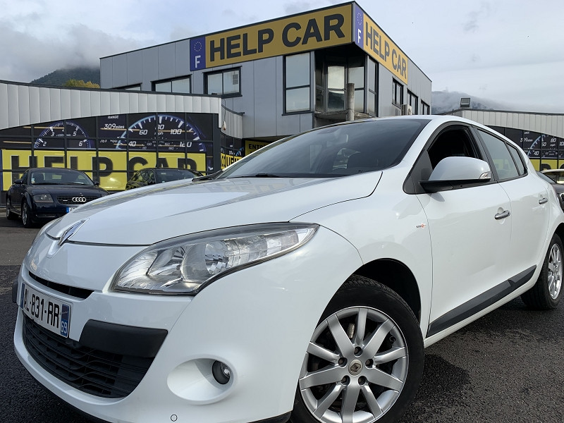 Renault MEGANE III 1.5 DCI 85CH TOMTOM EDITION ECO² Diesel BLANC Occasion à vendre
