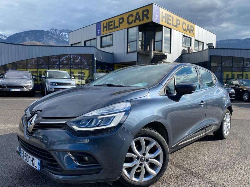 Renault CLIO IV 1.2 TCE 120CH ENERGY EDITION ONE EDC 5P Essence GRIS F Occasion à vendre