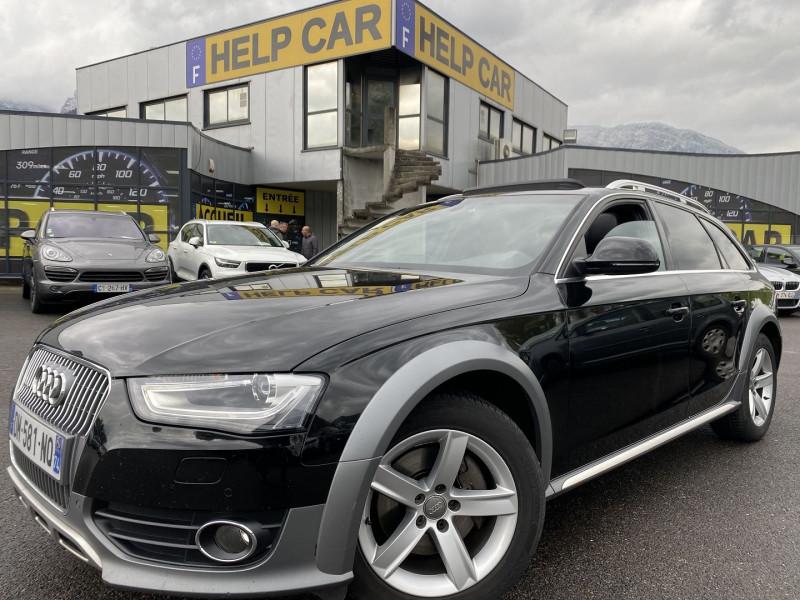 Audi A4 ALLROAD 3.0 V6 TDI 245CH AMBITION LUXE QUATTRO S TRONIC 7 Diesel NOIR Occasion à vendre