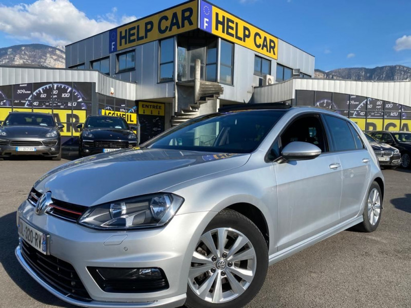Volkswagen GOLF VII 2.0 TDI 150CH BLUEMOTION TECHNOLOGY FAP R LINE 4MOTION 5P Diesel GRIS C Occasion à vendre