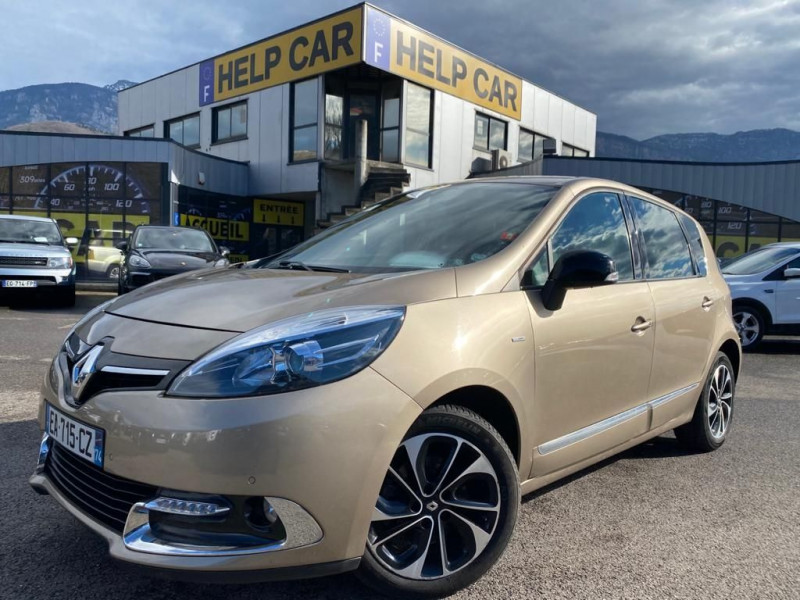 Renault SCENIC III 1.5 DCI 110CH ENERGY BOSE ECO² EURO6 2015 Diesel BEIGE  Occasion à vendre