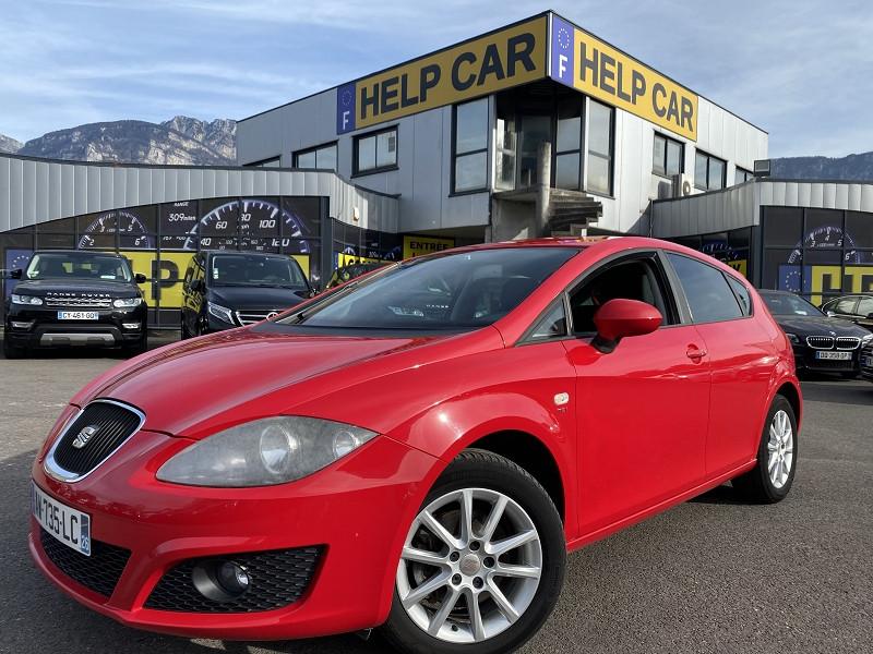 Photo 1 de l'offre de SEAT LEON 2.0 TDI140 CR FAP SPORT DSG à 5990€ chez Help car
