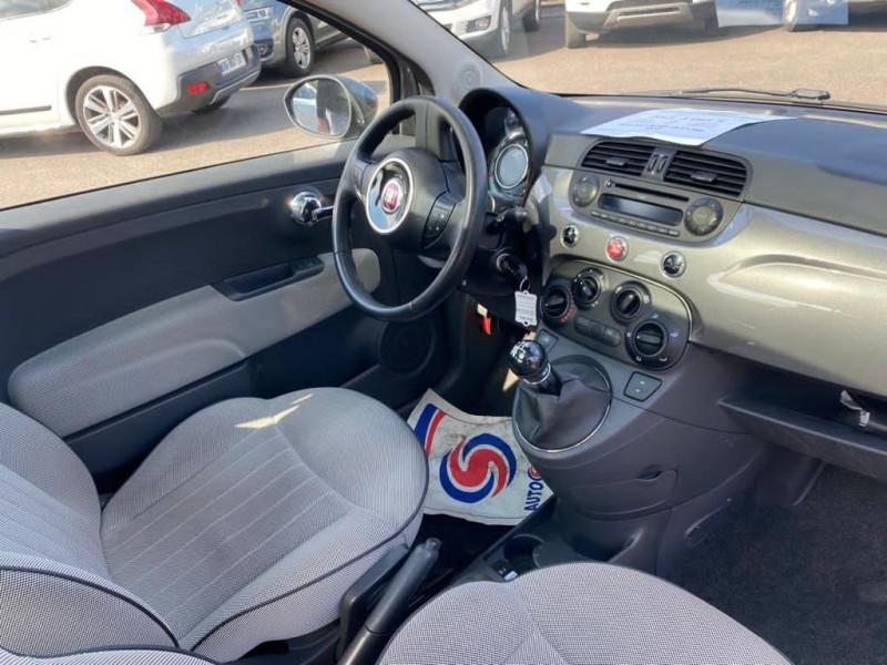 Photo 3 de l'offre de FIAT 500 1.2 8V 69CH LOUNGE à 7990€ chez Help car