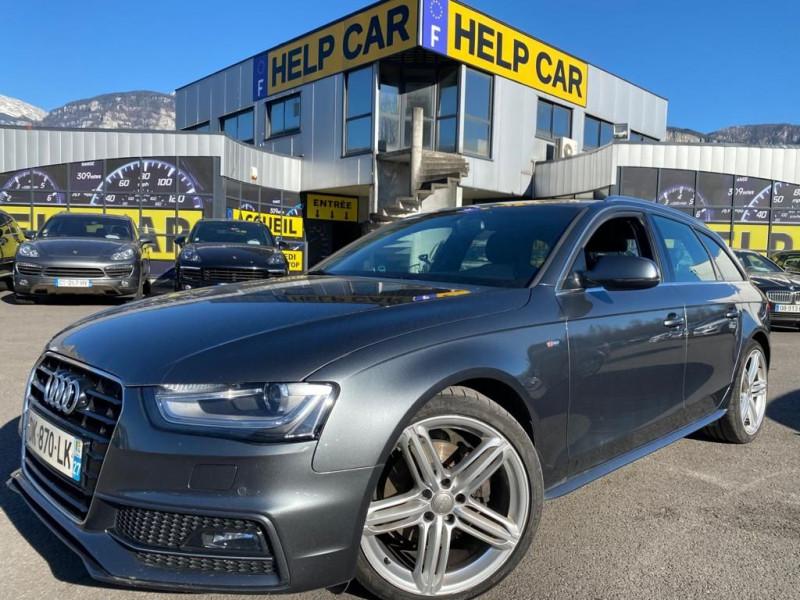 Audi A4 AVANT 2.0 TDI 150CH DPF S LINE MULTITRONIC Diesel GRIS F Occasion à vendre